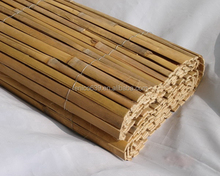 Split bamboo cane mat Cheap farm fence bamboo fence