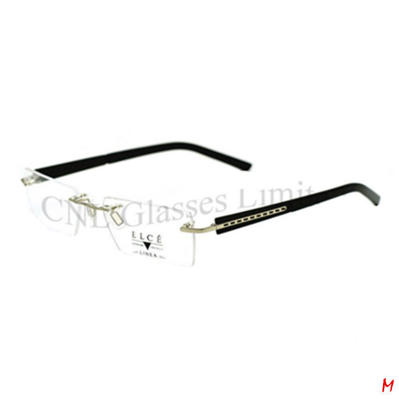 Rimless Light Flexible Eyeglass Frame