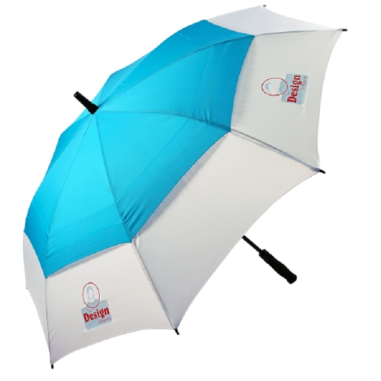 30 inch big golf umbrella,full sky and building prints golf umbrella