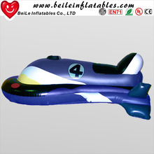 Inflatable motorcycle rider and inflatable PVC motocycle