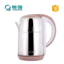 CB CE best household appliance electric tea cordless kettle 2.0L 304 food grade stainless steel rapid boil water kettle 1500W
