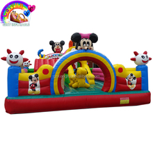 Giant hello kitty inflatable fun bouncer city for rental