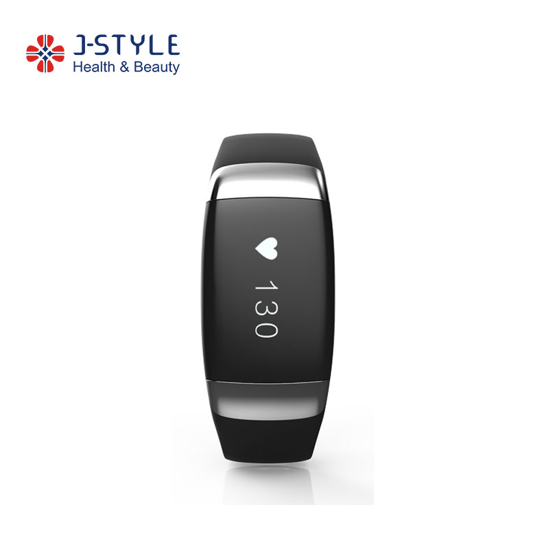 J-style BLE4.0 Vibration Call&MSG Reminder Heart Rate Monitor Ce Pedometer Instructions