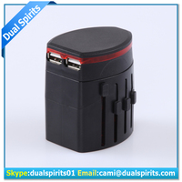 2017 NEW all-in-one universal world travel adapter/universal multi travel smart charger for promotion supplier