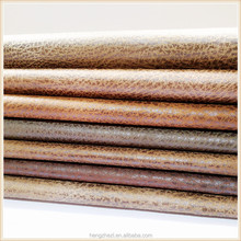 Wholesale polyester home decoration bronzed suede fabric from china factory