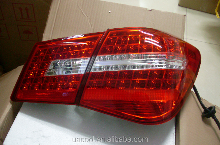 Assembly korea red color modified style Car Led Tail Light for Chevrolet cruze rear lamp