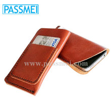 Superior quality leather phone cases with card slots for iphone 6s covers