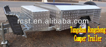 Upgraded RC-CPT-08 camper trailer