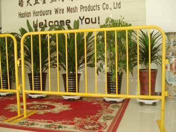 retractable steel barricades/ Pedestrian Crowd Control Barriers /temporary barricades direct factory