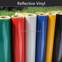 1*50m PVC Material 3m Reflective Vinyl Stickers
