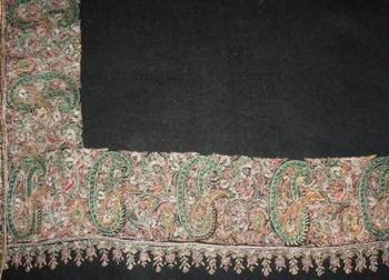 High-End 100% Cashmere (Pashmina) Shawls & Stoles With Hand-Needle Embroidery