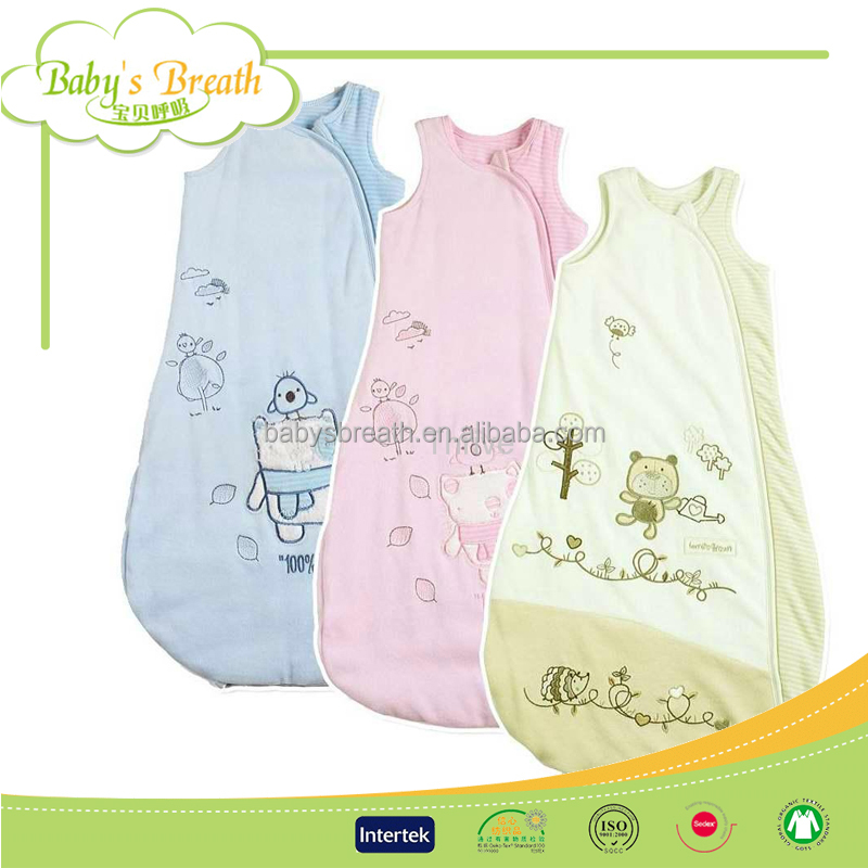 BSB911 hot sale colourful cotton padded body waterproof sleeping bag, baby sleeping bag sale