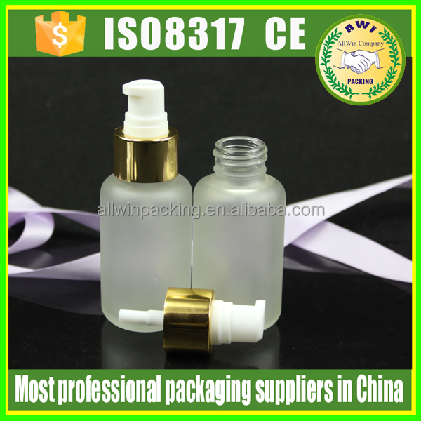 4oz cosmetic empty glass packaging bottle make Up And Concealer Lotion glass Bottle lotion bottle for skin care