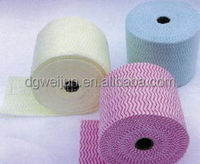 eco-friendly household made in china spunlace wood pulp nonwoven