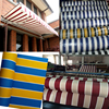 wholesale striped and plain color awning fabric