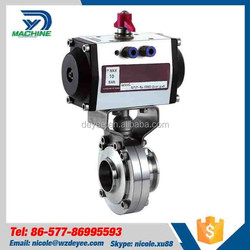 Gold Supplier China Pneumatic Air Operated butterfly check valve