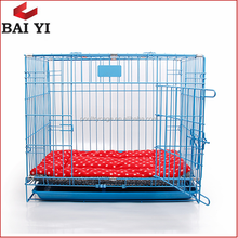 Folding Metal Mesh Dog Kennel Cage / House For Sale