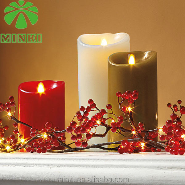 2014 MINKI religious flameless candles
