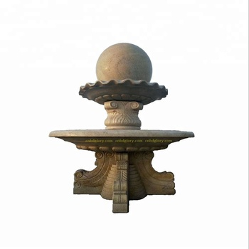 New Design Stone Art Feng Shui Ball Marble Water Fountain