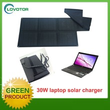 Waterproof charger solar mobile charger for mackbook pro 30W charger for laptop