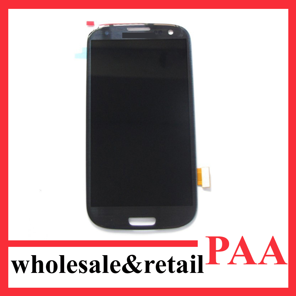 lcd for samsung galaxy s3 i9300 display touchpad black