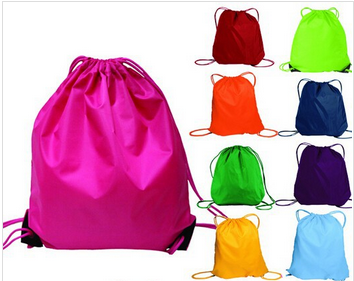Cheap Promotional Nylon Drawstring Tote Bag For Multiple Use, Drawstring Laundry Bag