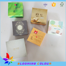 Customized gift box for soap /luxury soap packaging box/High quality eco-friendly handmade soap box
