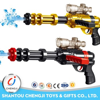 black manual water bullet toys water crystal gun