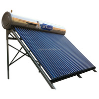 The latest design stainless steel Integrated Pressurized solar water heater