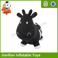 PVC inflatable Toy Animal,Jumping toy--milk cow