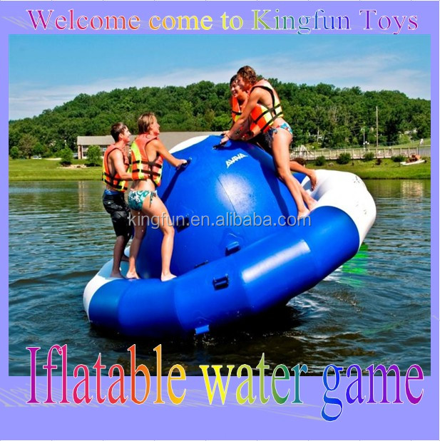 Inflatable UFO Seesaw, inflatable water saturn games