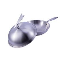 Can be customized Fully stocked ceramic wok frying pan