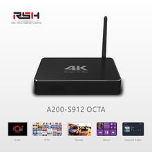 Android6.0 kodi tv box, Amlogic S912 octa core 3/16GB 4K smart media player with 2.4G/5G WIFI, google app store free download