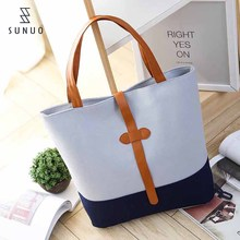 Custome Print Tote Shopping Folding Beach Woman Handbag
