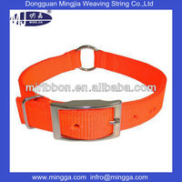 Fashionable heavy duty nylon dog collar for sale