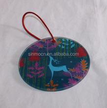 christmas decorative promotional glass gift