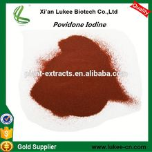 Povidone iodine price/PVP Iodine red powder iodone 10% solution Medicine Grade andTech Grade