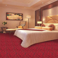 Cheap price plain color wall to wall cut pile tufted hotel carpet