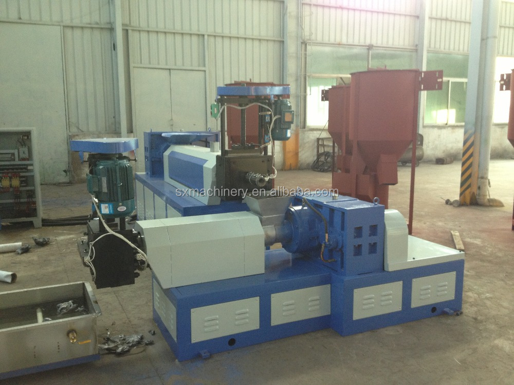 Parent-son type plastic film recycling machine