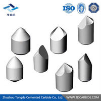 Zhuzhou Tongda carbide dth thread button bit with high quality