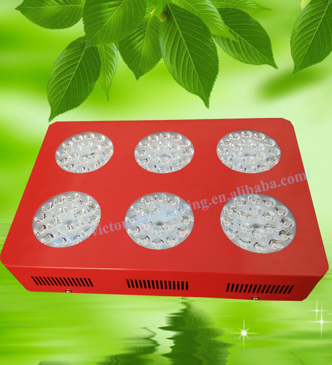 Easy installation horticulture AC85-265V red blue apollo 6 led grow light