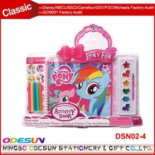 Michaels Sedex FSC Audit and ISO 9001 Factory Audit Manufacturer pony funny school children customized stationery set