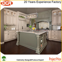 New style Luxury solid wood contemporary-modern kitchen pantry cupboards