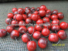High simulation delicious cherry wholesale,in home decor