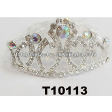 prom pageant wedding glitter ab crystal tiaras for sale