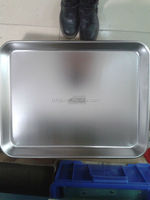 Dental chair stainless steel tool tray