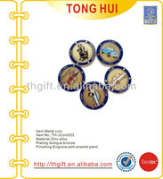 Various car logo zinc alloy commemorative coin,souvenir coin
