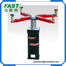 F3500D single post hydraulic underground lift for car washing