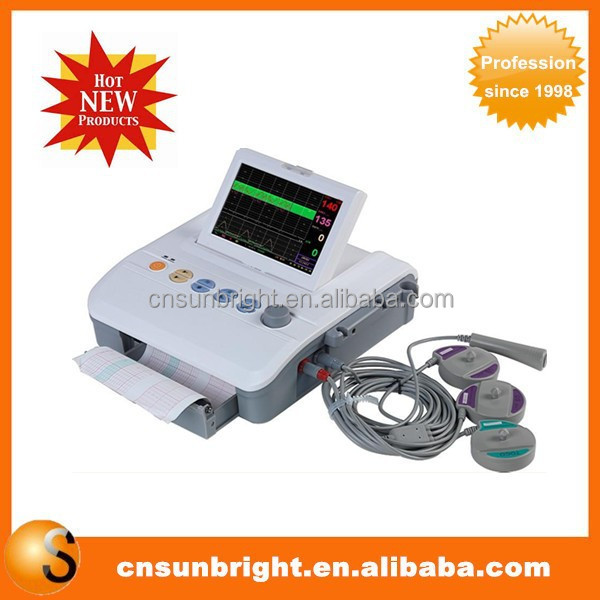 FHR /TOCO /FM configuration Twins Monitor Obstetric System Fetal Monitor