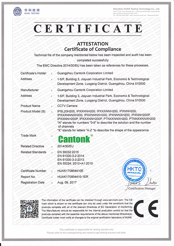 Cantonk 1080p CCTV HD PTZ Camera 36X Optical Zoom120 IR Range